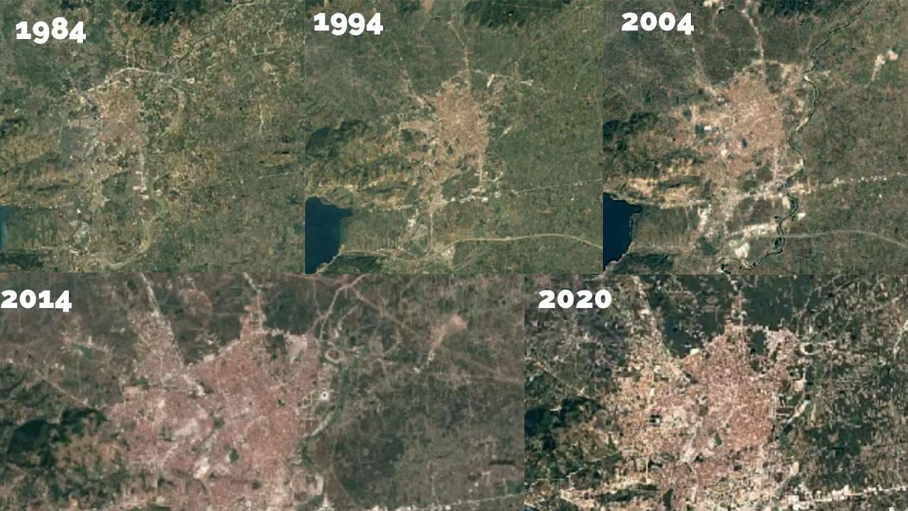 Uydu Görüntülerinden Sakarya'nın 37 Yıllık Değişimi