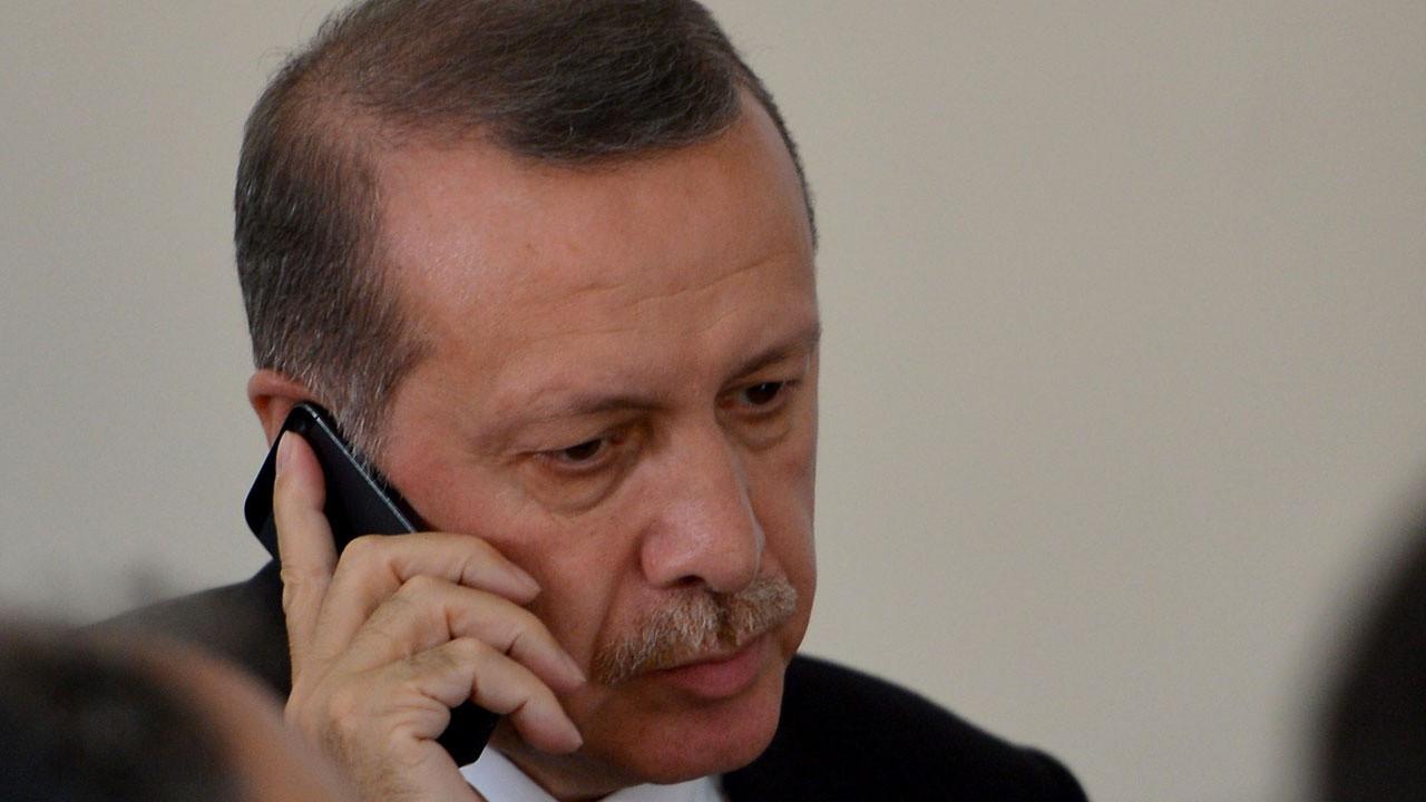 """Cumhurbaşkanı Erdoğan'dan """"Mescid-i Aksa"""" telefonu"""