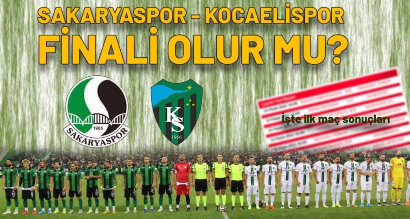 Sakaryaspor – Kocaelispor finali olur mu? İşte Play-Off'taki diğer sonuçlar