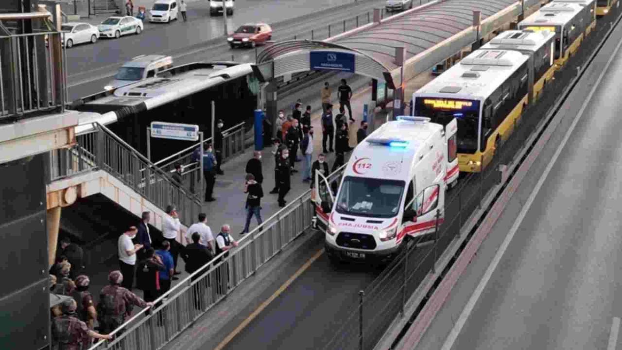 Metrobüste rehine krizi