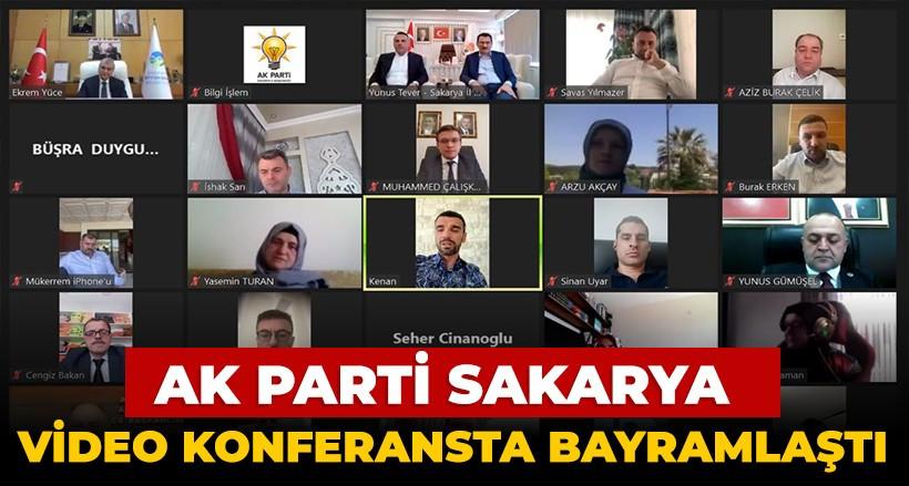AK Parti Sakarya Video Konferans Yöntemiyle Bayramlaştı