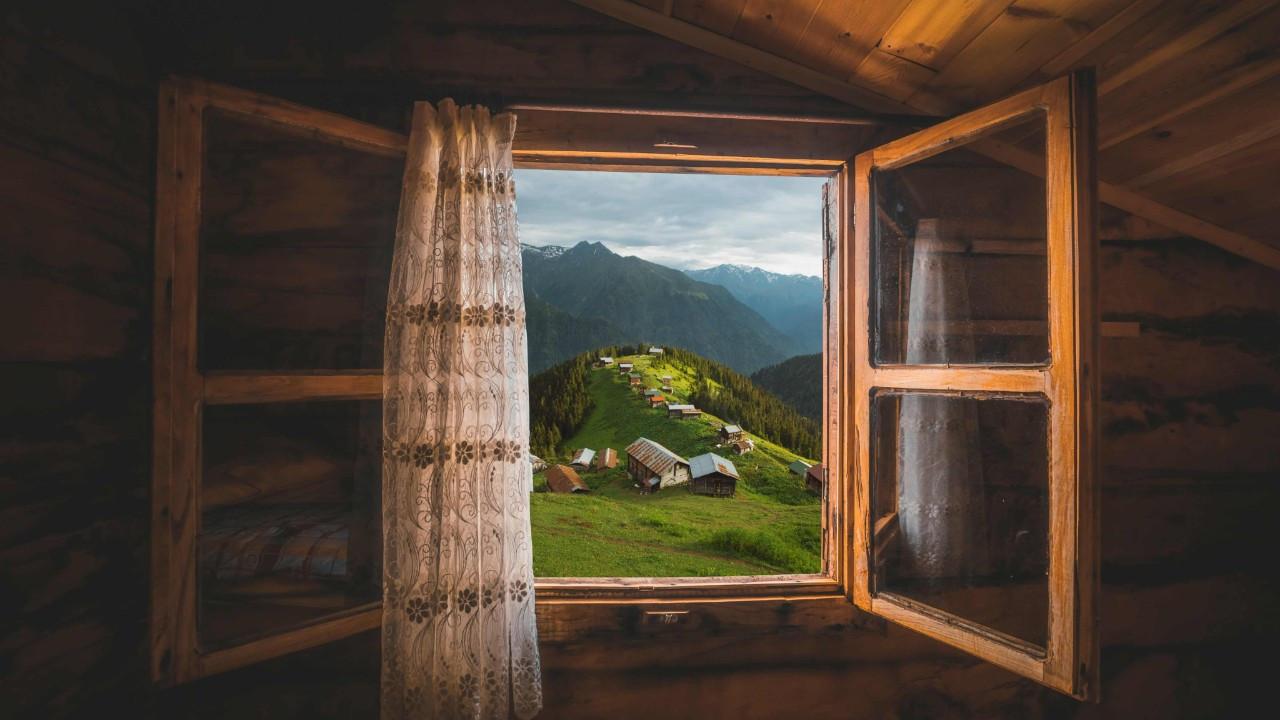 Yeşile doyabileceğiniz doğa harikası, Pokut Yaylası