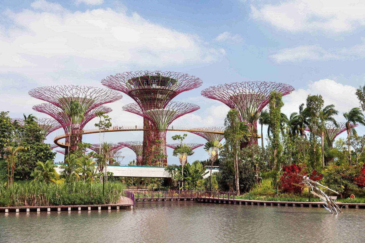 Singapur'un Masalsı Botanik Bahçeleri: Gardens By The Bay - Sayfa 1
