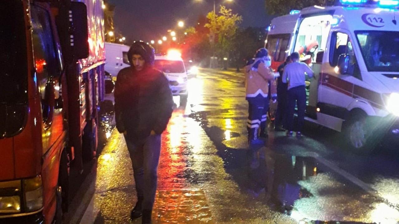 Samsun'da motosiklet yayalara çarptı: 4'ü yaya 5 yaralı