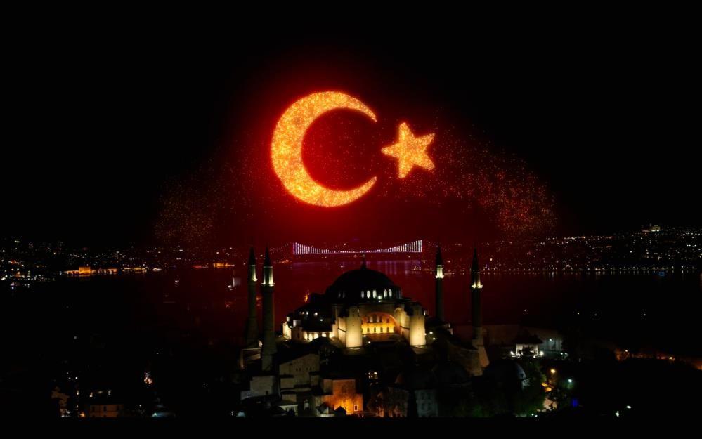 İstanbul'un Fethi'nin 568. yıldönümü ışık gösterileriyle kutlandı - Sayfa 2