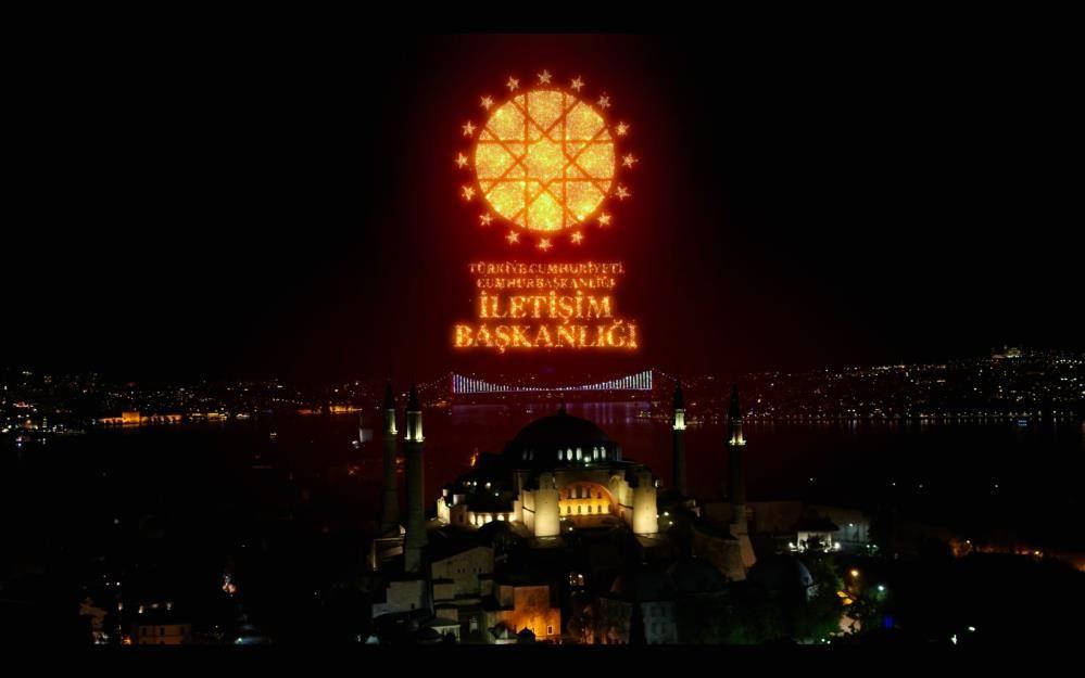 İstanbul'un Fethi'nin 568. yıldönümü ışık gösterileriyle kutlandı - Sayfa 1