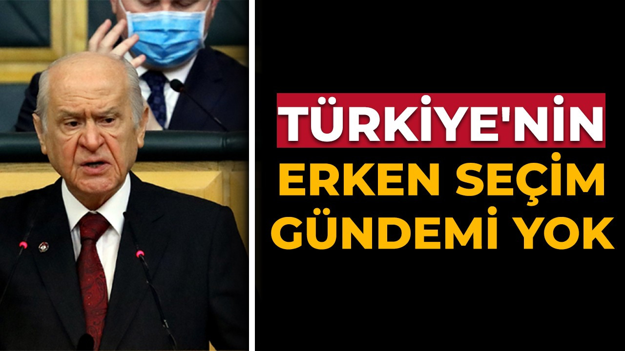 MHP Lideri Bahçeli'den önemli açıklamalar...