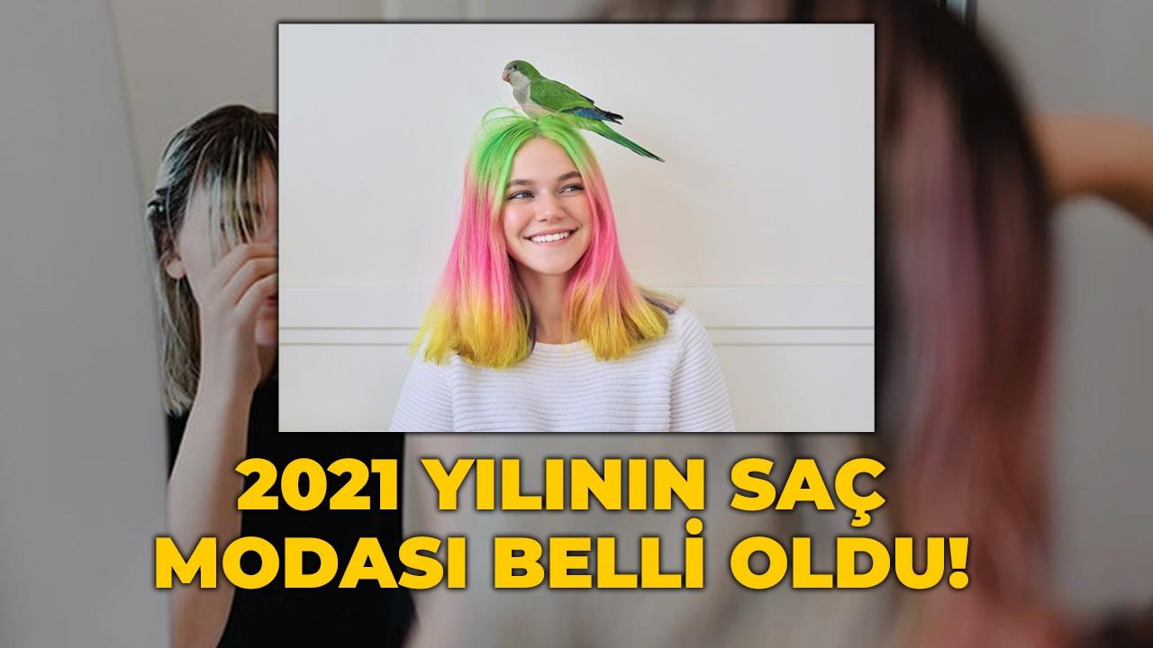 2021 yılının saç modası belli oldu! Maskülen kesimler, renkler ve fütürist stiller...