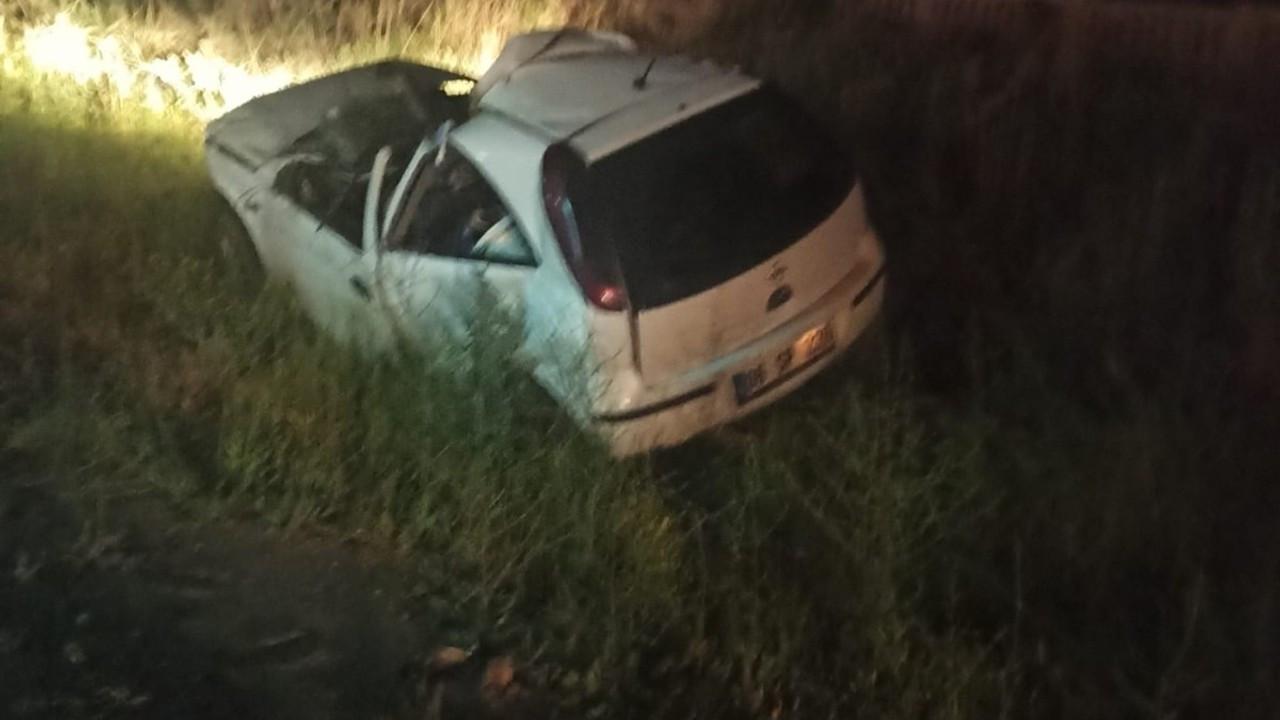 Karpuz taşıyan tıra çarpan otomobilin sürücüsü hayatını kaybetti