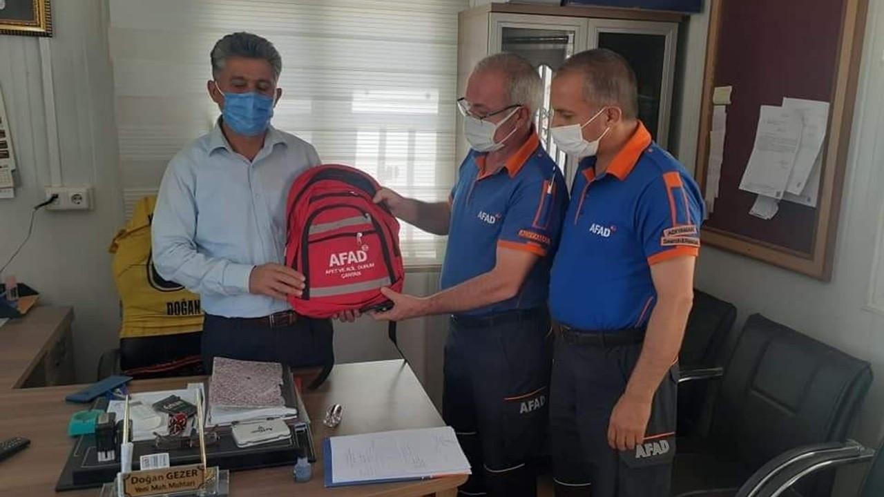 AFAD ekipleri bilgilendirme faaliyetlerine devam ediyor