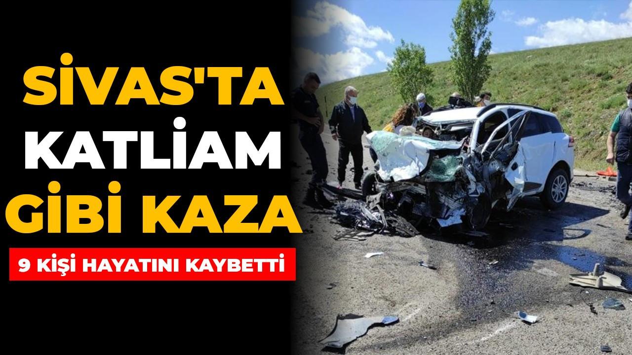 Sivas'ta katliam gibi kaza