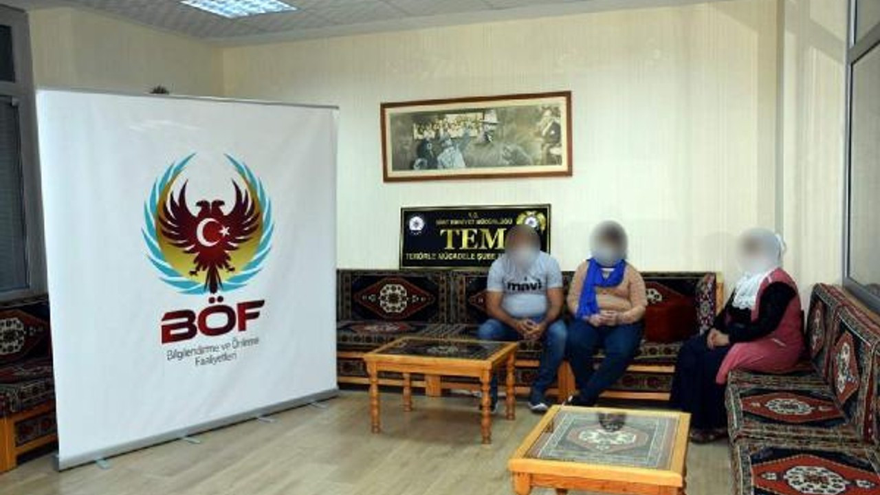 Siirt'te teslim olan PKK'lı, ailesine kavuştu
