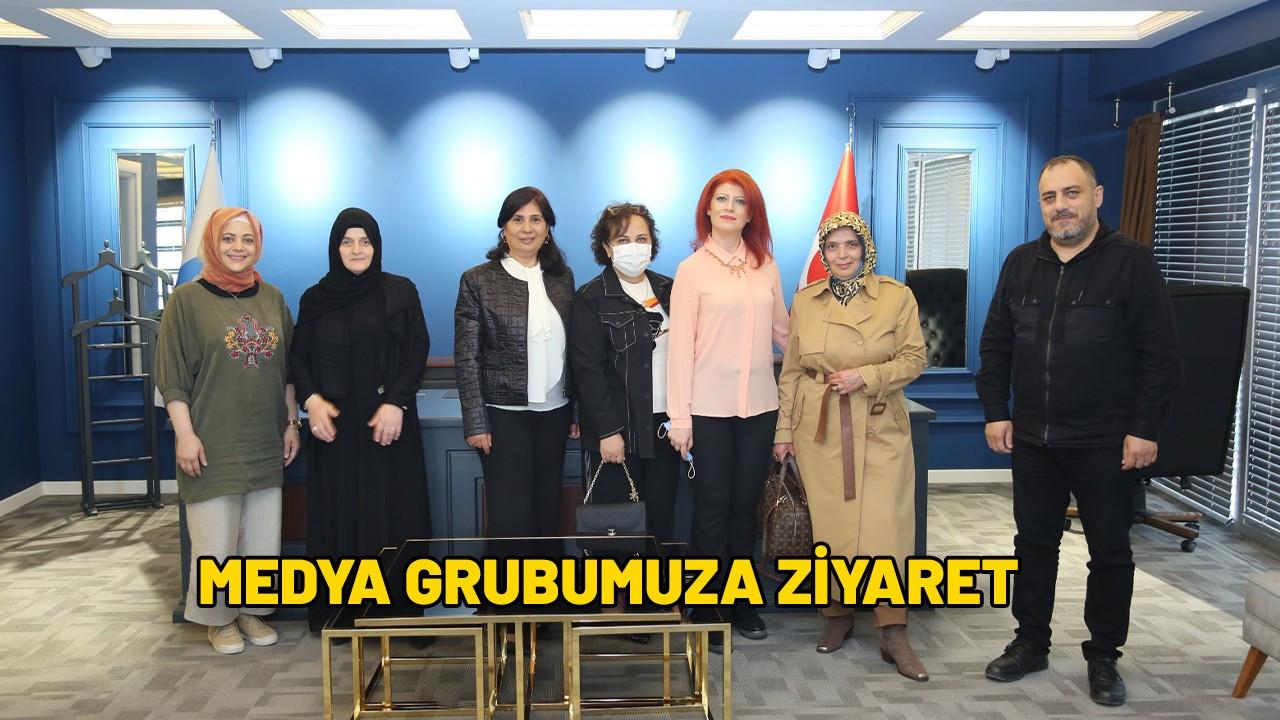 Hanımlardan Medya Grubumuzu ziyaret