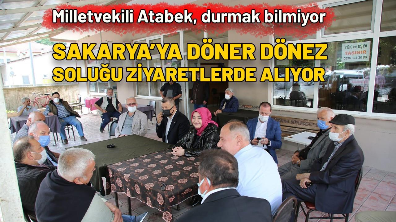 Milletvekili Atabek'ten ziyaretler
