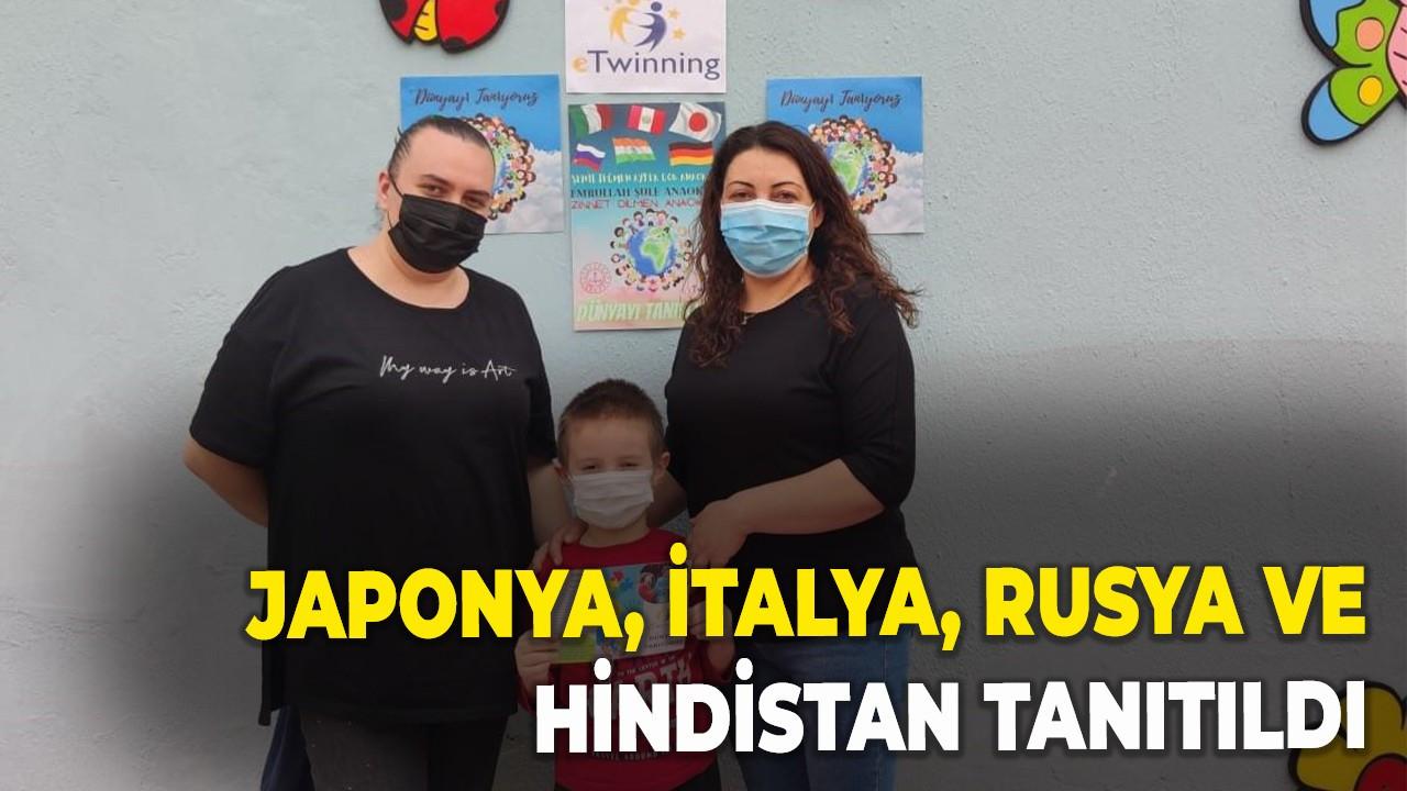 Japonya, İtalya, Rusya ve Hindistan tanıtıldı