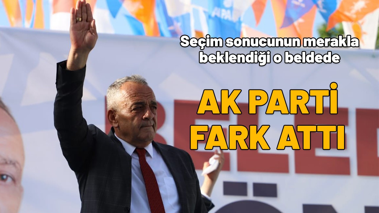 Afyon'daki seçimde AK Parti fark attı