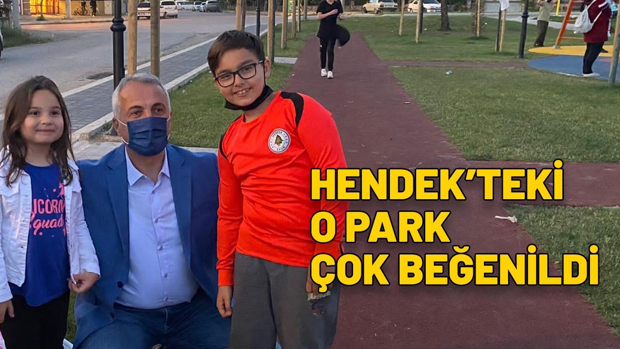 Hendek'teki Alparslan Türkeş Parkı çok beğeniliyor