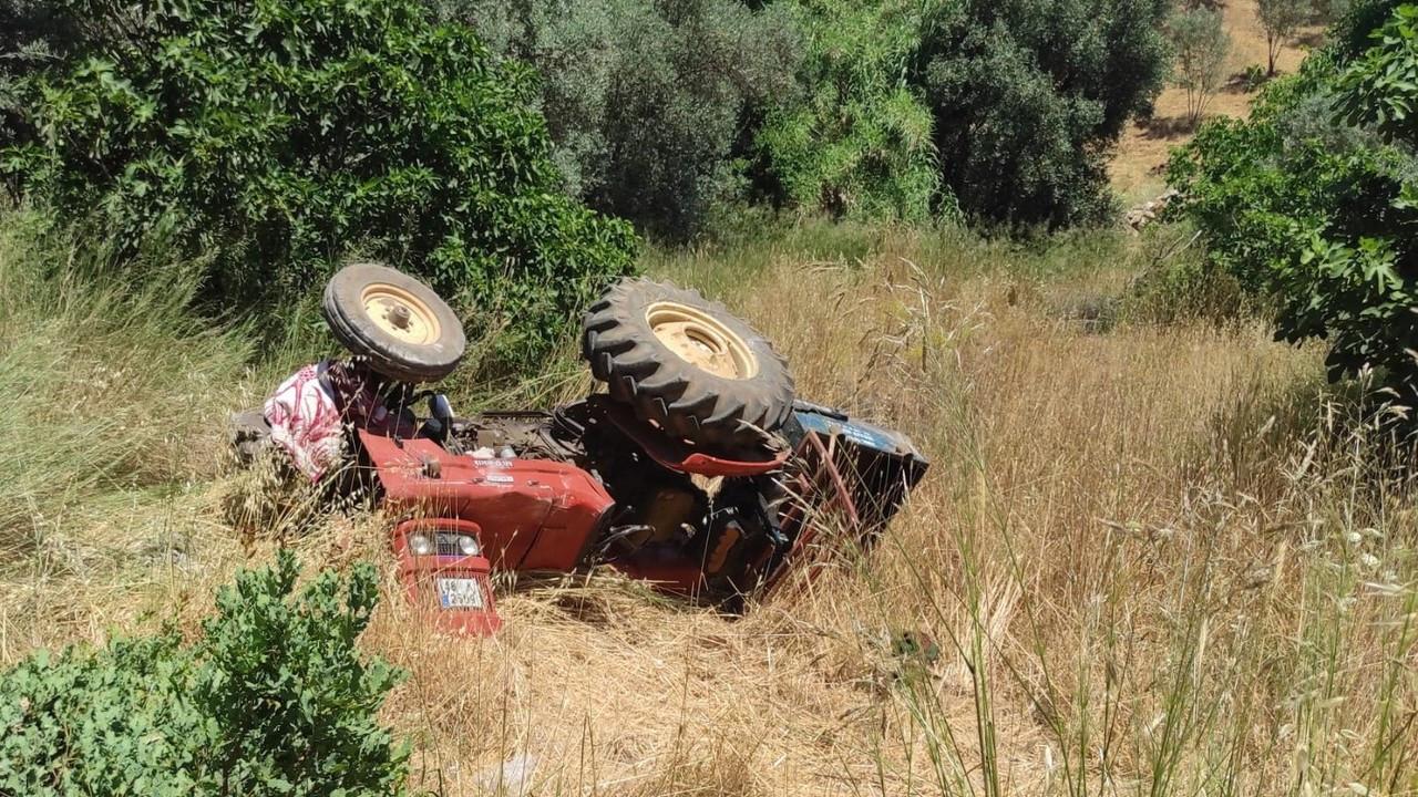 Köyceğiz'de traktör kazası: 1 ölü, 1 yaralı