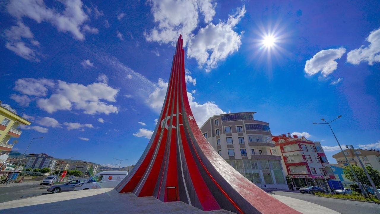 Şifalı Köprülü Kavşağına, 'Türkiye-Azerbaycan Kardeşi Anıtı'