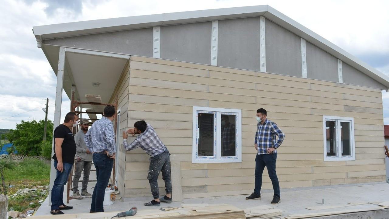 Dört kırsal mahalleye konukevi inşa ediliyor