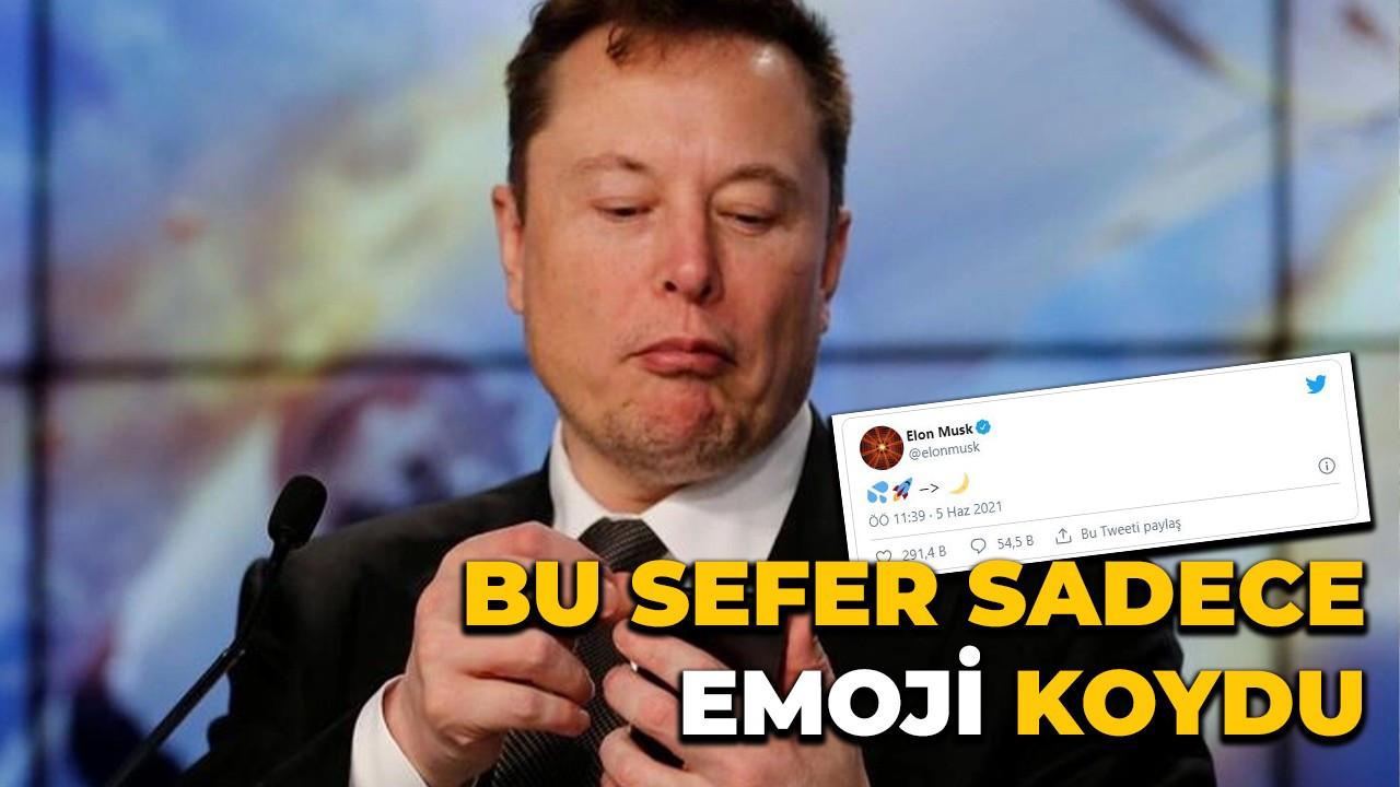 Elon Musk bu sefer sadece emoji koydu ve o coinin çıkmasına neden oldu
