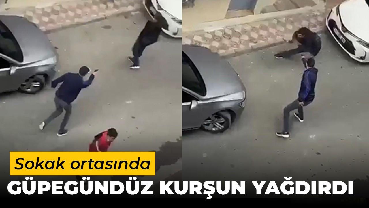 İstanbul'da  sokak ortasında dehşet anları