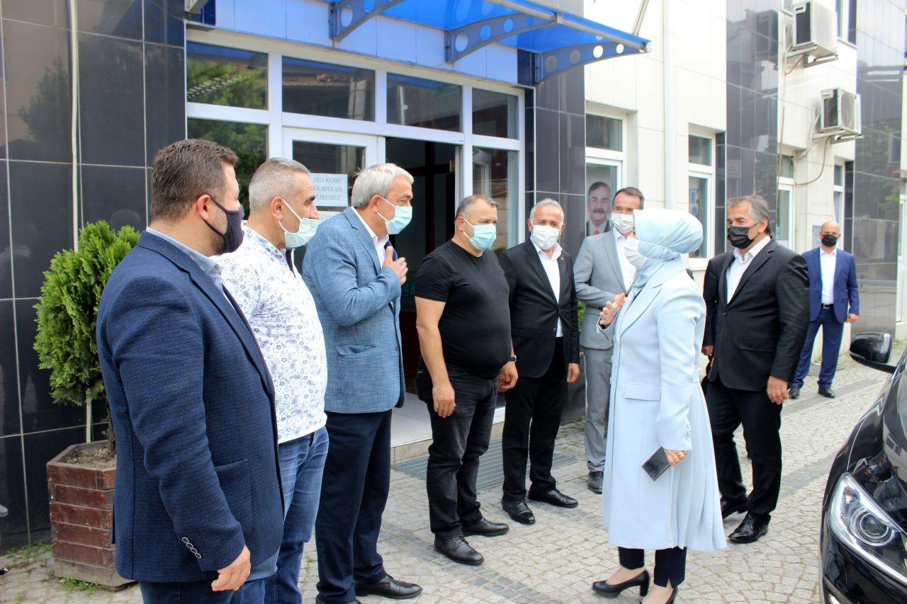 Çiğdem Erdoğan Atabek Arifiye'de Ziyaretlerde Bulundu - Sayfa 1