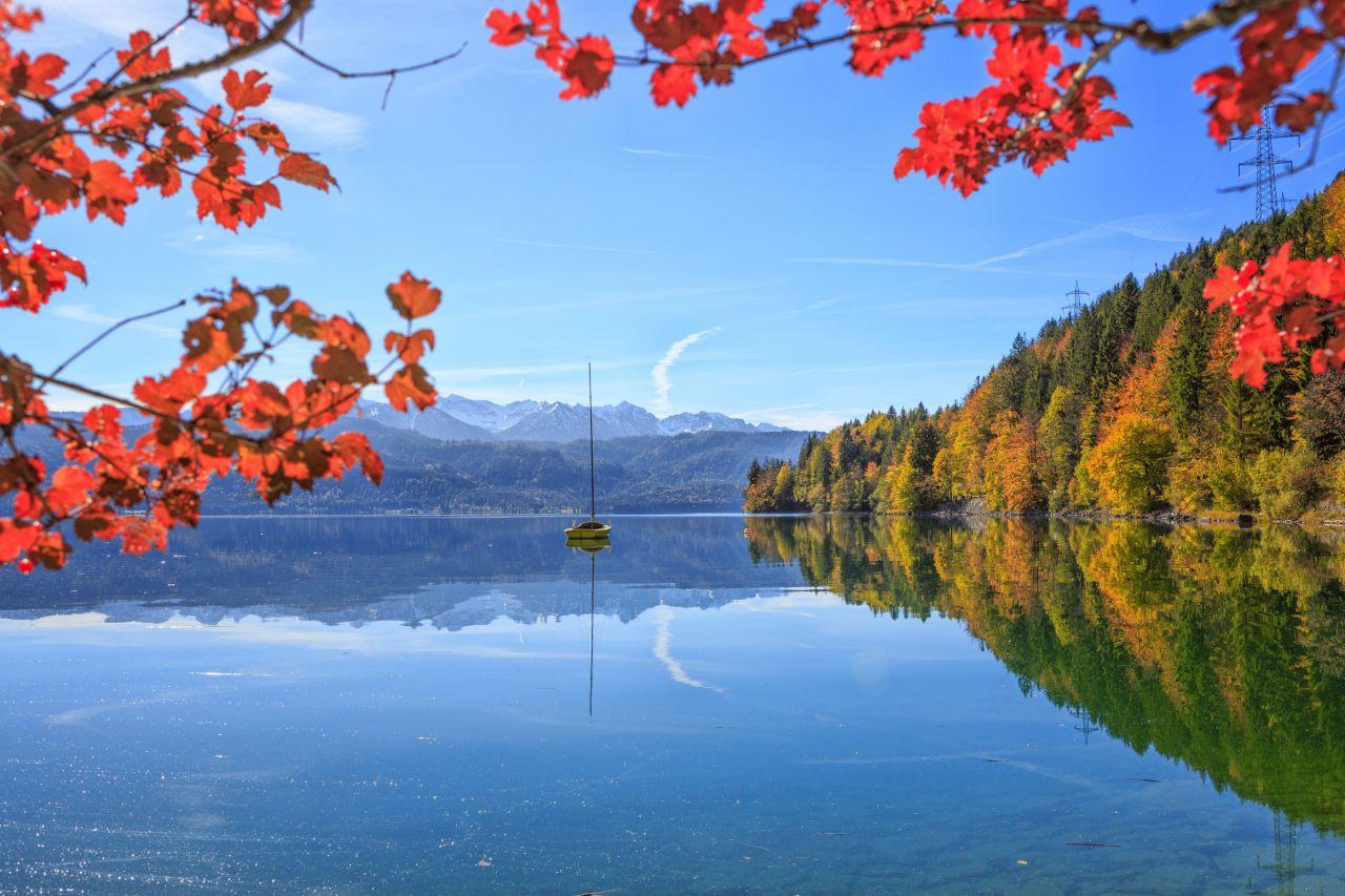 Almanya'nın en güzel gölü Walchensee büyülüyor - Sayfa 1