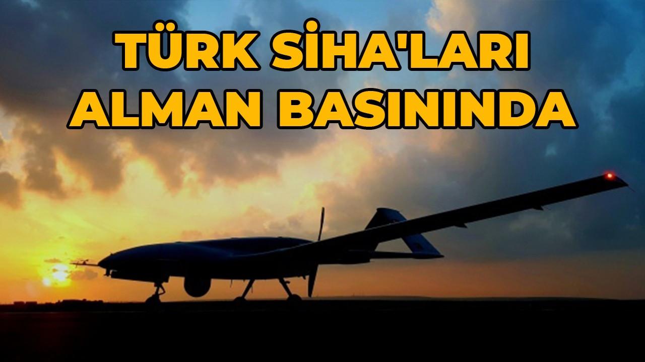 Türk SİHA'ları Alman basınında: 'Türk SİHA'ları ihracatta nasıl en yüksek seviyeye ulaştı'