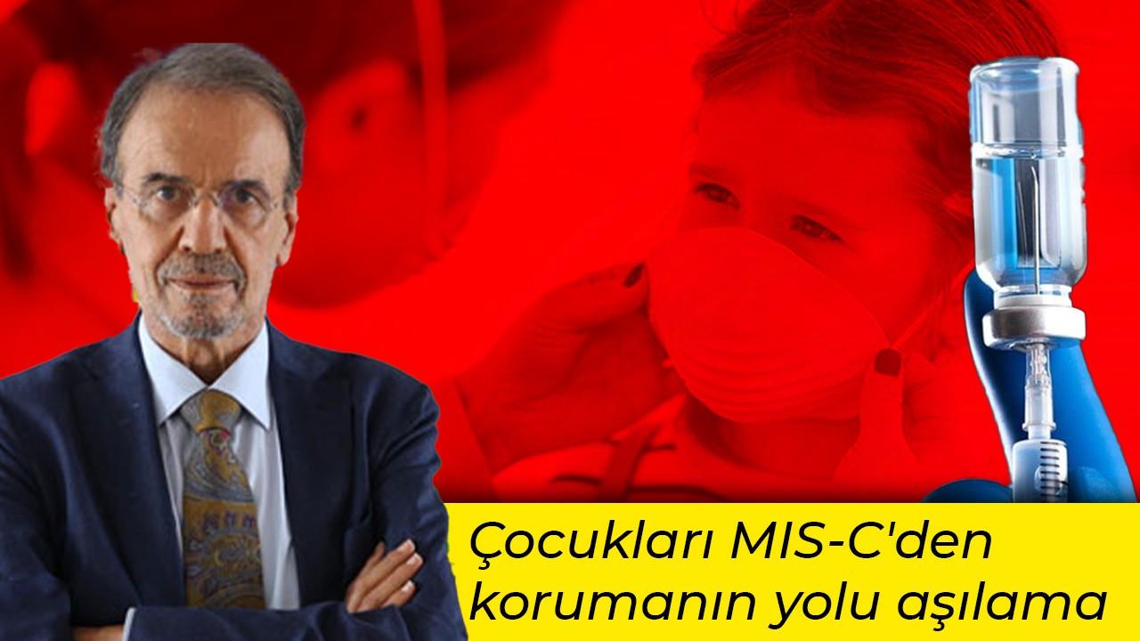 'Çocukları MIS-C'den korumanın yolu aşılama'
