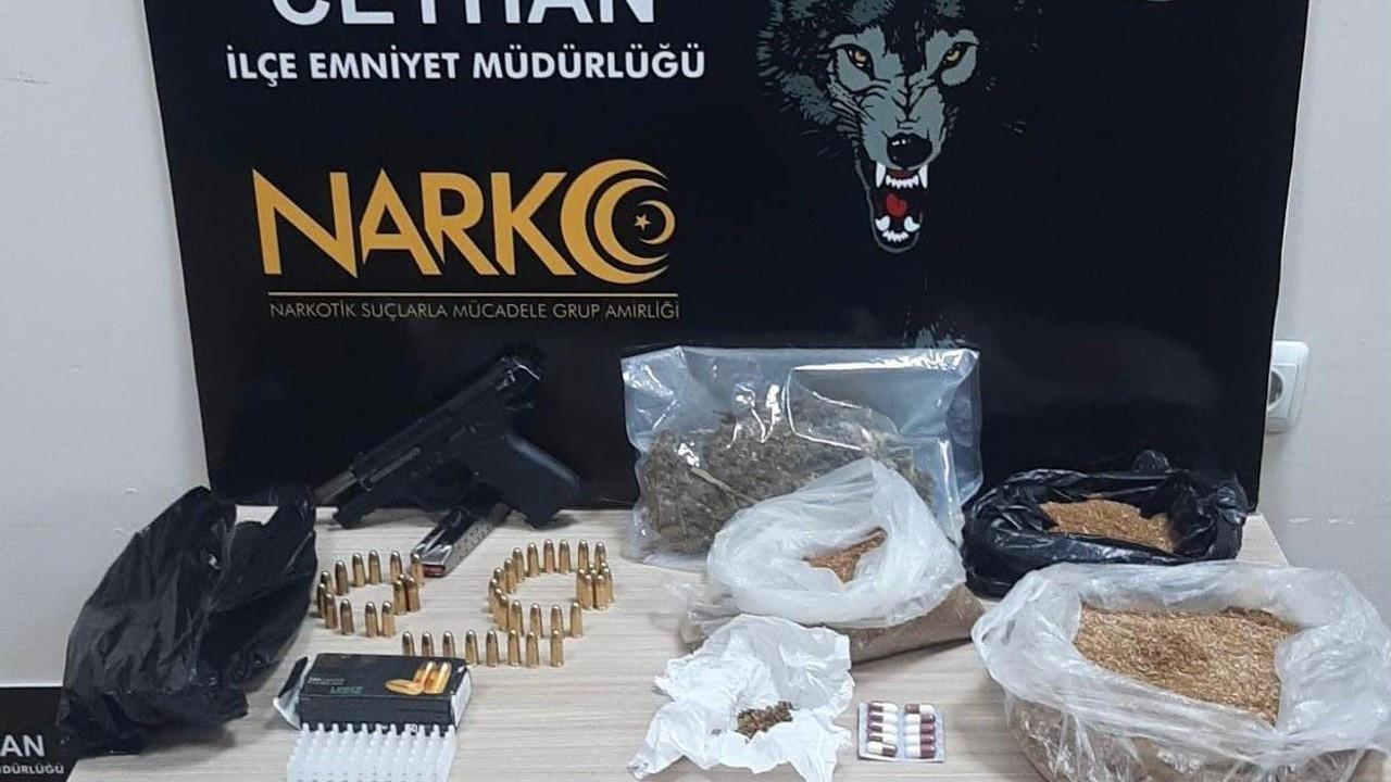 Adana'da uyuşturucu ticareti yapan kişi yakalandı