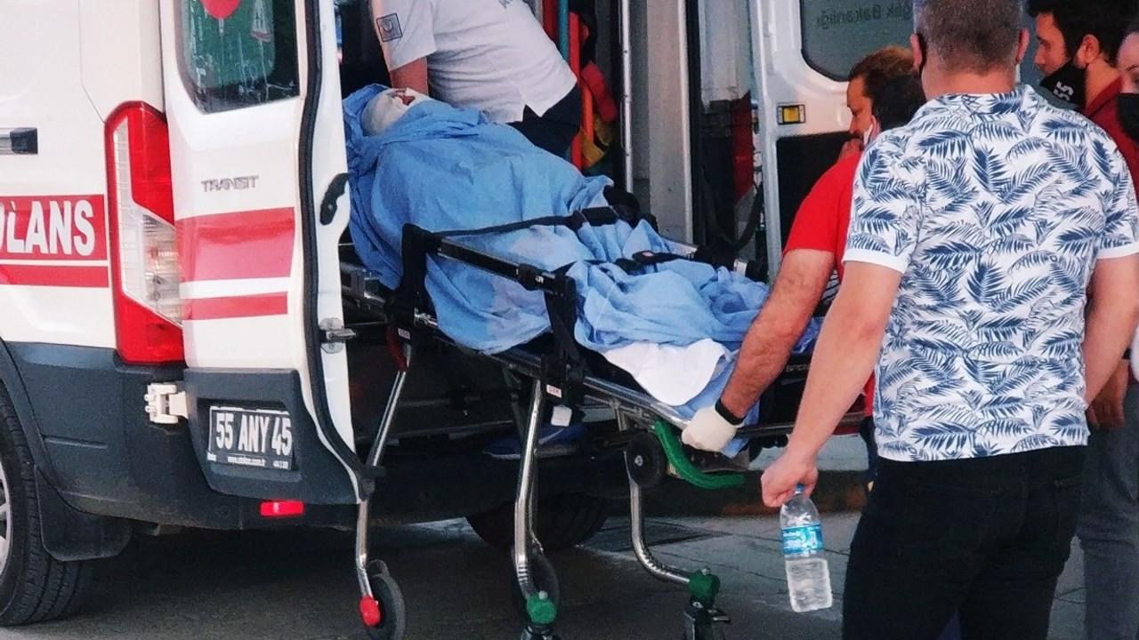 Bisikletle duvara çarpan çocuk ağır yaralandı