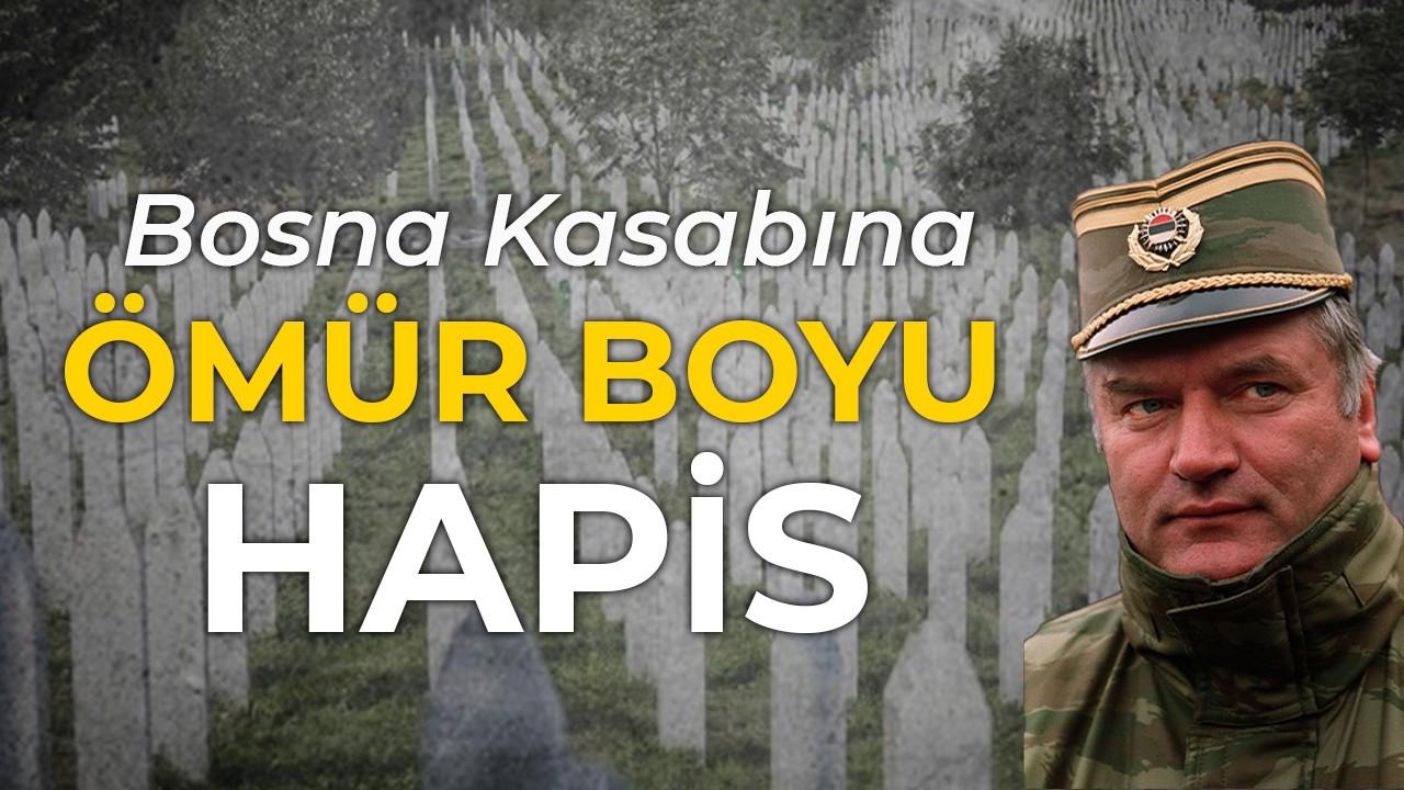 Bosna Kasabına ömür boyu hapis