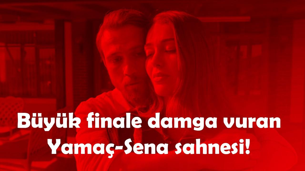 Çukur bitti mi? Büyük finale damga vuran Yamaç-Sena sahnesi!