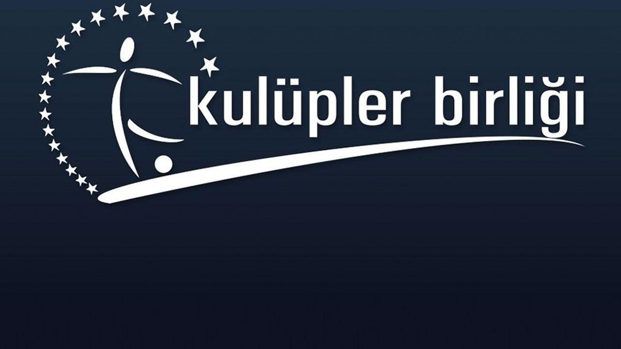 """Kulüpler Birliği: """"Süper Lig, iki sezon daha 20 takımla devam etsin"""""""