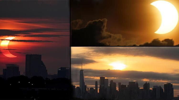 Tüm dünya güneş tutulmasını hayranlıkla izliyor - Sayfa 1