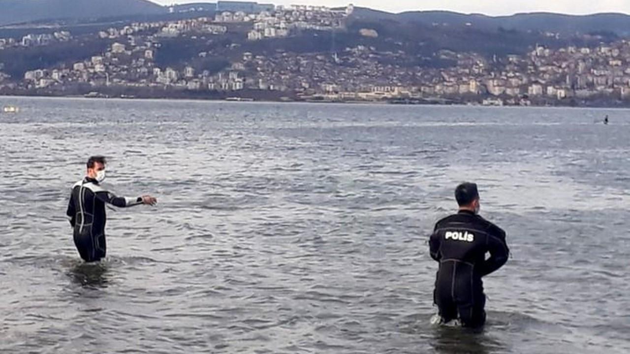 Kaçak midye avcıları polisten kaçamadı