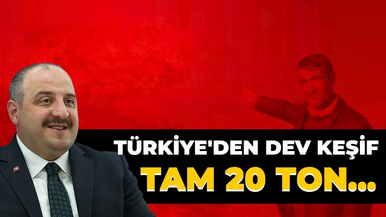 Türkiye'den dev keşif