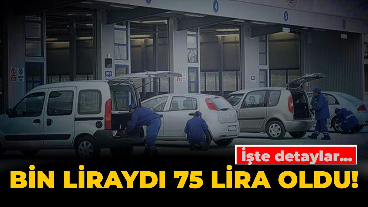 Resmi Gazete'de yayımlandı! 1000 liralık gecikme bedeli 75 lira oldu