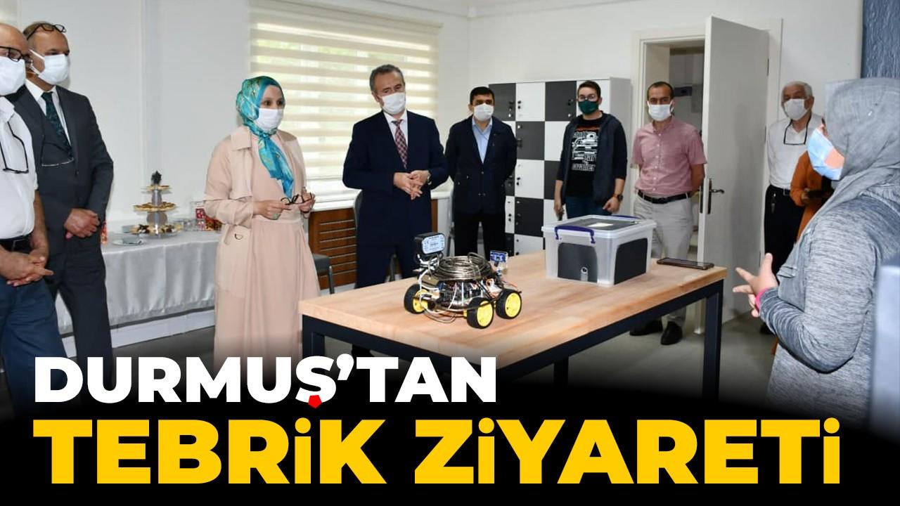 Durmuş'tan Arifiye Necmettin Erbakan Fen Lisesi Ziyareti