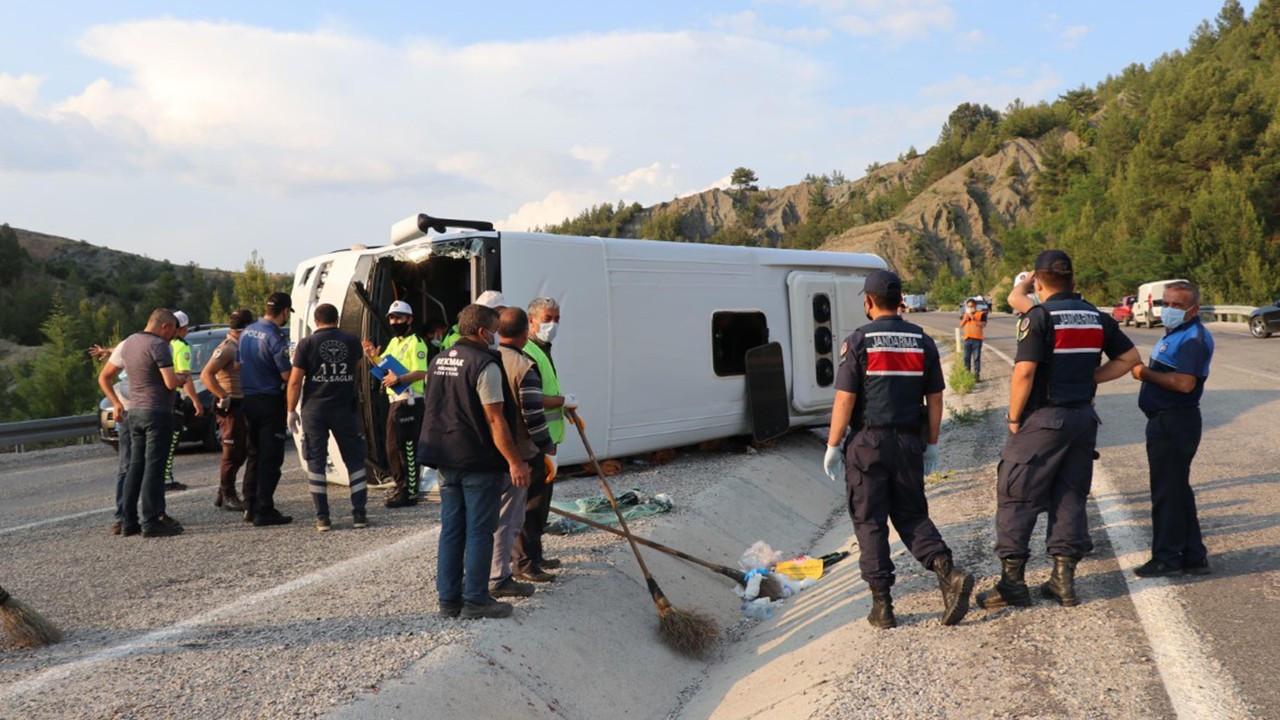 Denizli'deki kazada 25 yaralıdan 20'si taburcu oldu; sürücüye para cezası