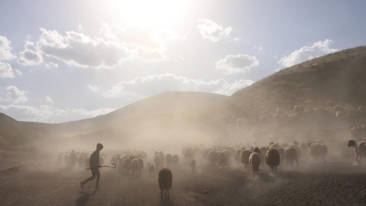 Nemrut Dağı eteklerine tozlu yolculuk