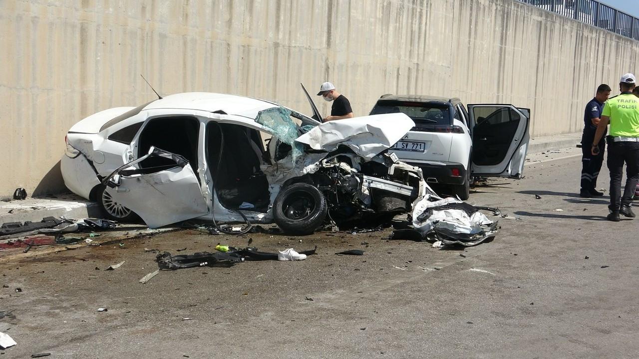 Hatayda feci kaza: 3 ölü, 4 yaralı