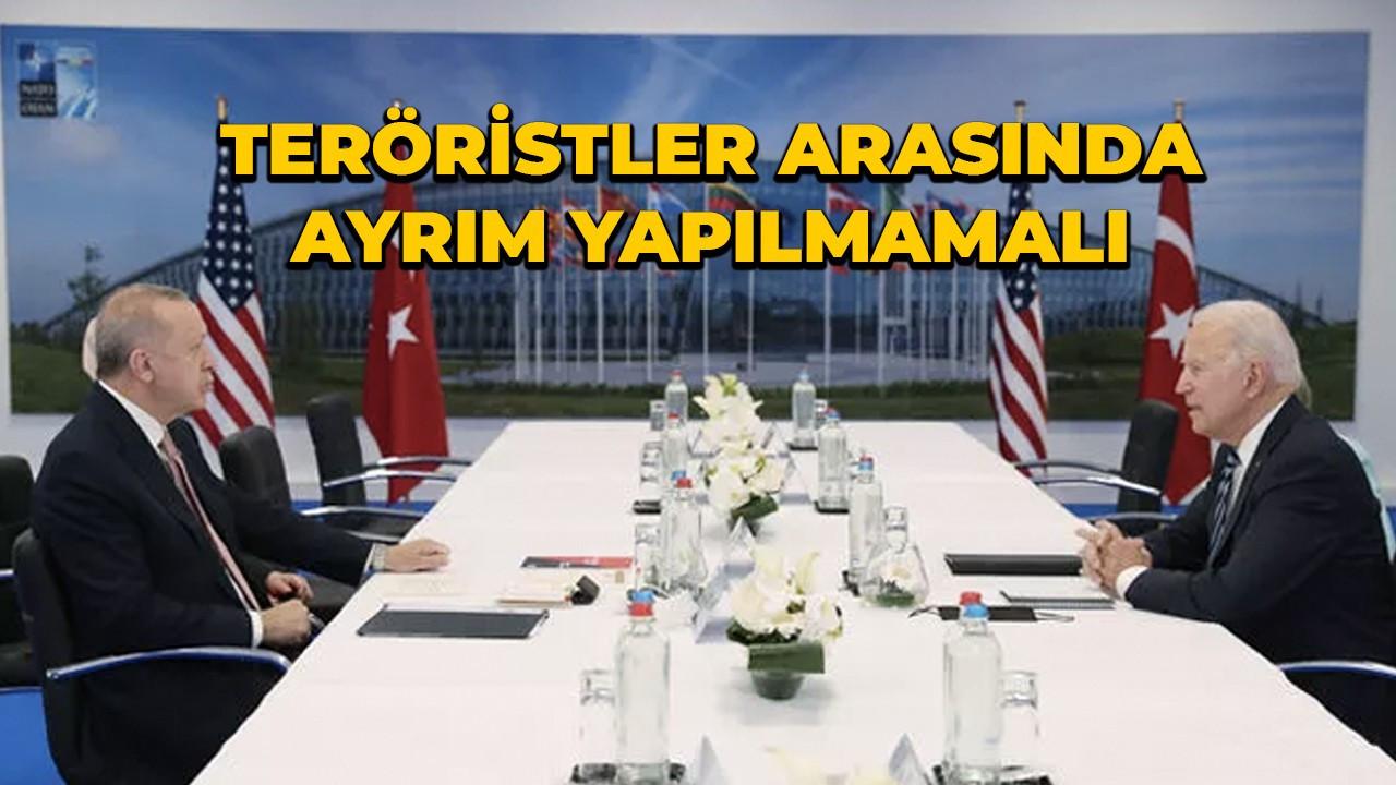 Cumhurbaşkanı Erdoğan-Biden görüşmesi sona erdi
