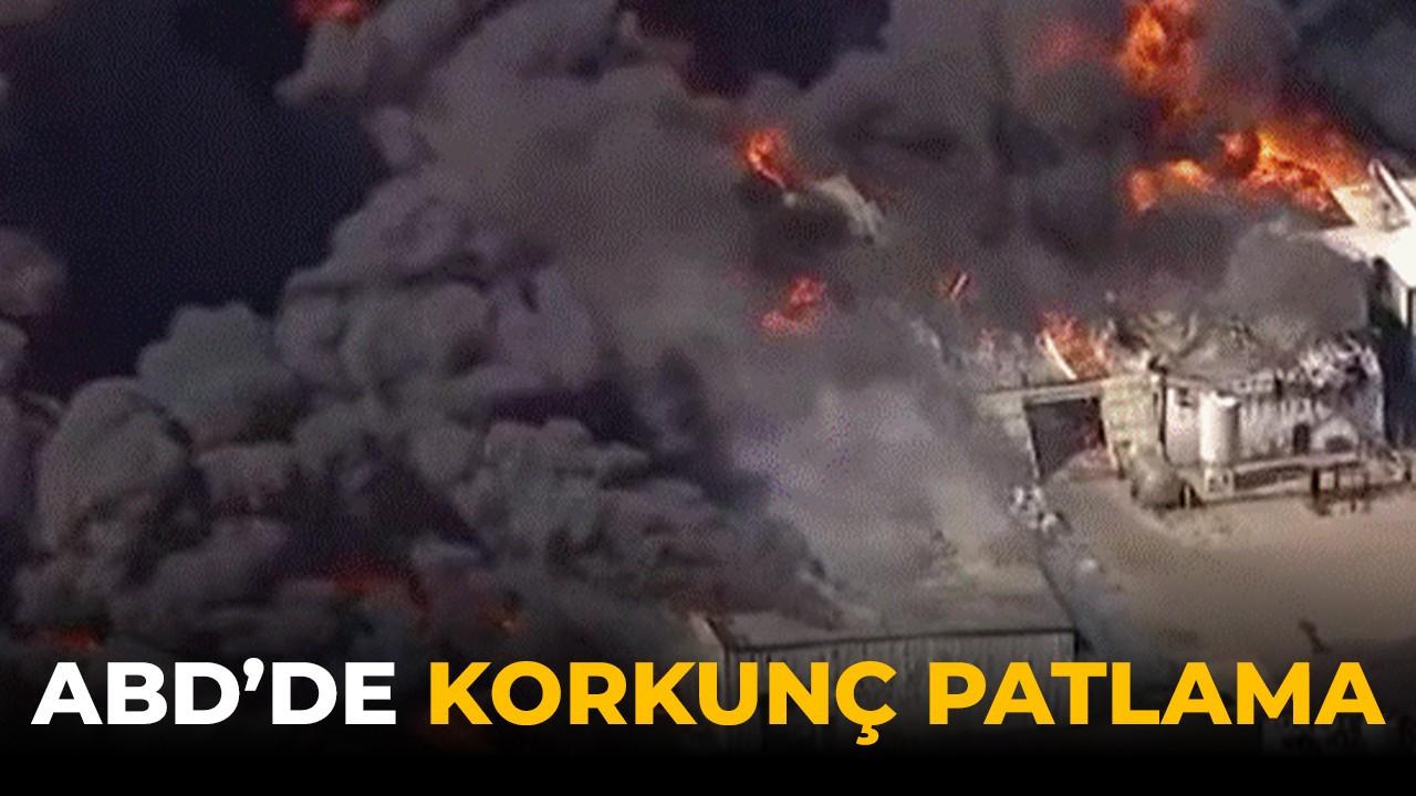 ABD'de şiddetli patlama