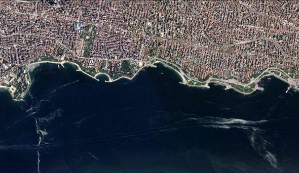 İstanbul'daki müsilaj uzaydan görüntülendi - Sayfa 3