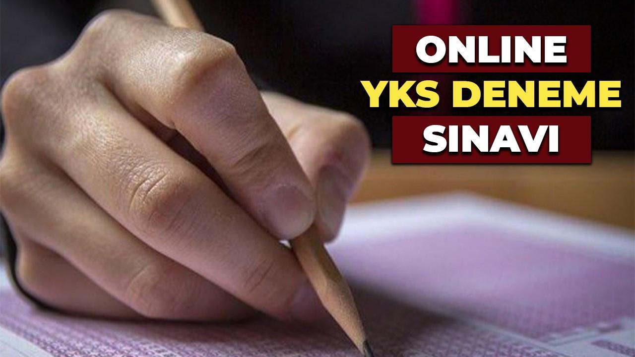 Öğrenciler'e  'Online YKS Deneme Sınavı'