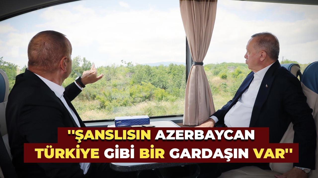 Şanslısın Azerbaycan Türkiye gibi bir gardaşın var