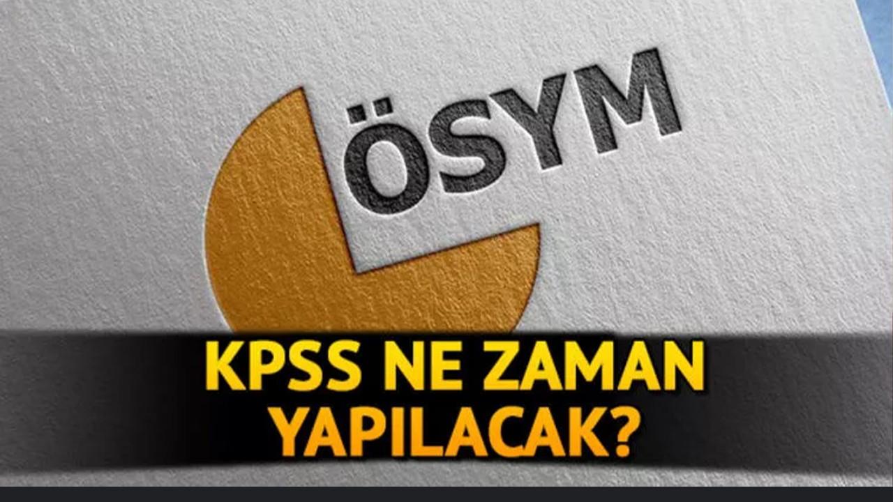 2021 KPSS sınavı ne zaman?