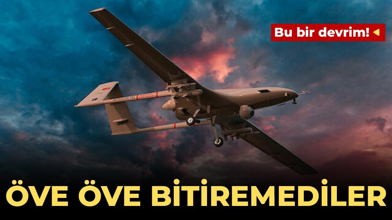 Öve öve bitiremediler! Almanya'dan silahlı insansız hava araçlarına övgü!